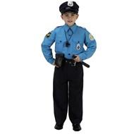 Jr. Police Officer Suit Child Costume