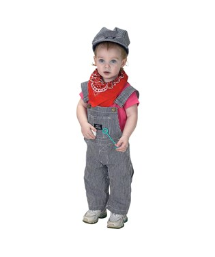 Jr. Train Engineer Suit Infant / Toddler Costume
