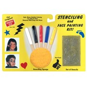 Stenciling and Face Painting Kit