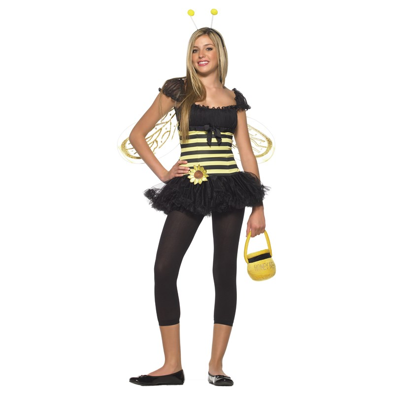Sunflower Bee Teen Costume for the 2015 Costume season.