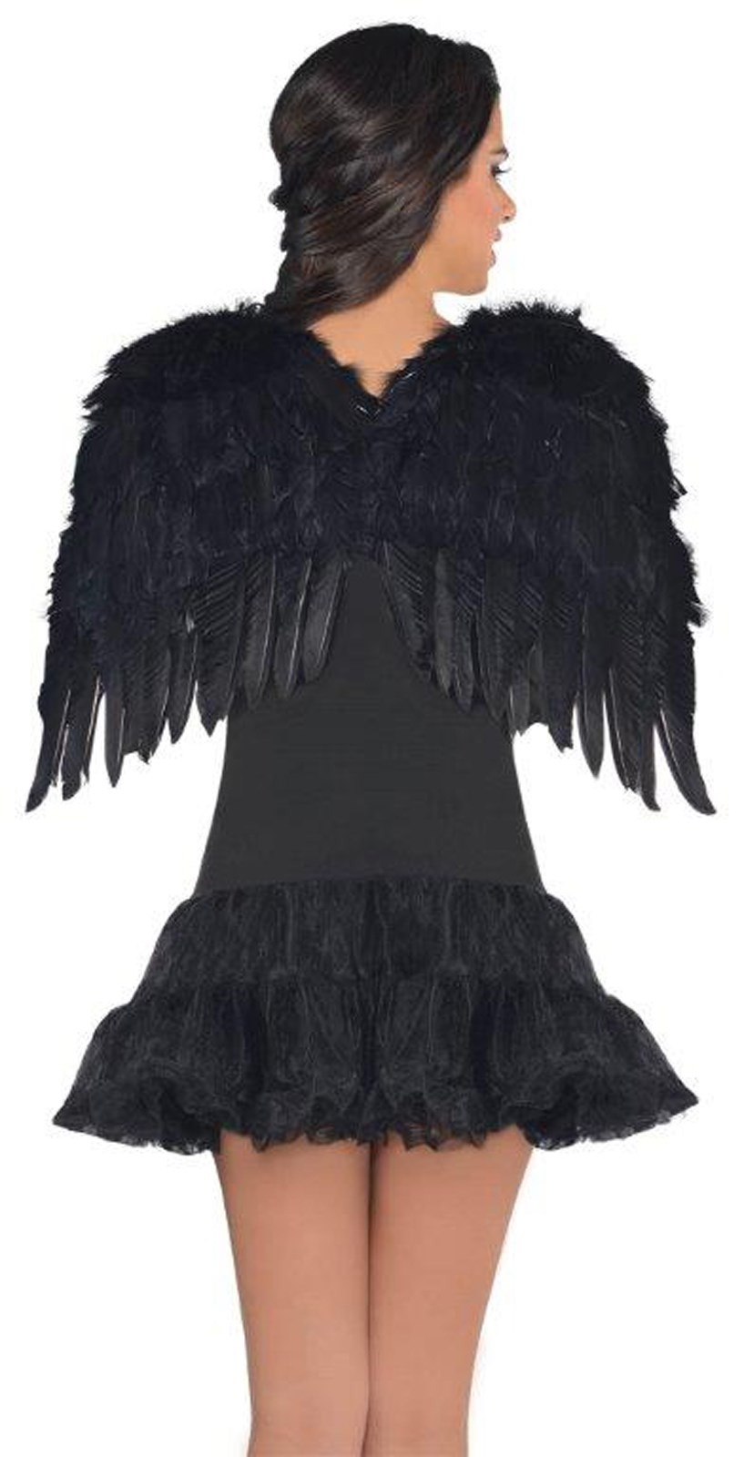 Image of Black Deluxe Feather Angel Accessory Kit (Adult)
