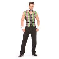 Mardi Gras Man Adult Costume
