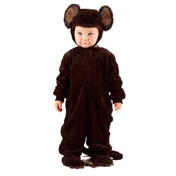 Plush Monkey Newborn/Infant Costume