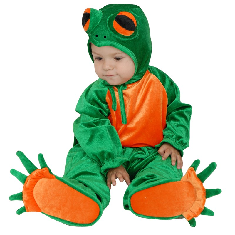 Little Frog Toddler  and  Child Costume for the 2015 Costume season.