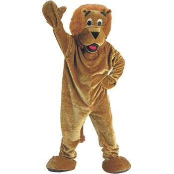 Roaring Lion Economy Mascot Adult Costume. Includes: Jumpsuit with attached ...