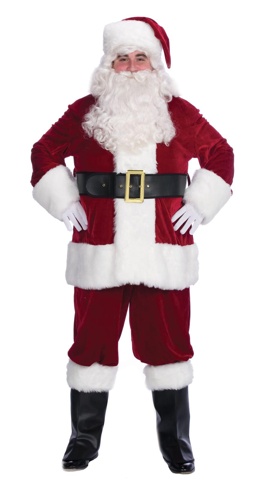 Velvet Complete Santa Costume – Adult