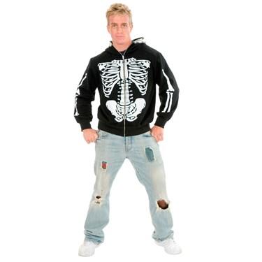 Skeleton Hoodie Teen Costume