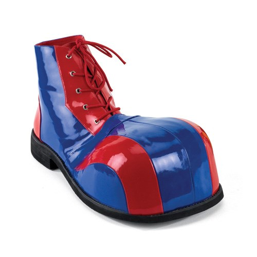 Clown (Blue and Red) Adult Shoes for the 2015 Costume season.