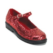 Red Glitter Mary Jane Shoes - Child