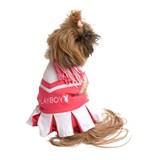 Playboy Cheerleader Pet Costume