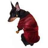 Playboy Hef Robe Pet Costume