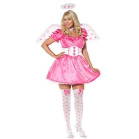 Sassy Cupid Plus Adult Costume