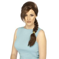 Lara Croft Tomb Raider Wig