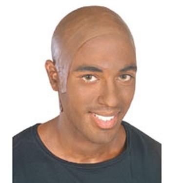 Latex Dark Bald Head