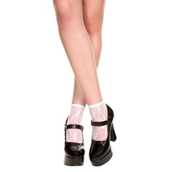 Lace Ankle Socks - Adult
