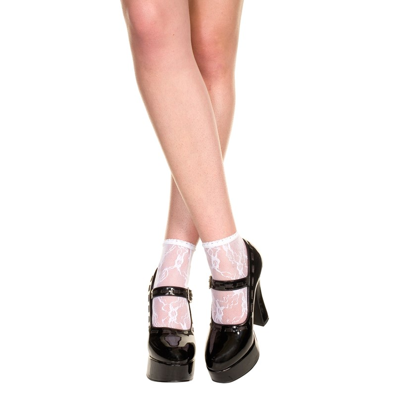 Lace Ankle Socks   Adult for the 2015 Costume season.
