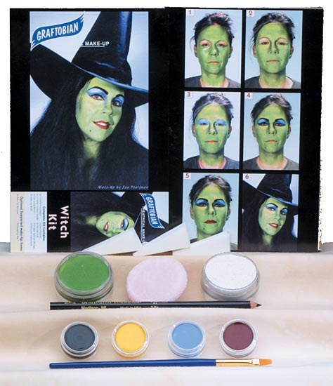 Witch Make Up Kit for the 2015 Costume season.