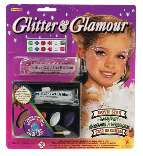 Glitter Make Up Kit for the 2015 Costume season.