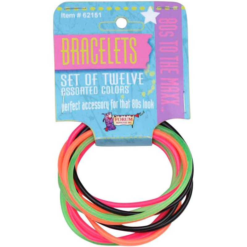 80s Bracelet Set for the 2015 Costume season.