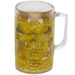 20 oz. Clear Skull Mug
