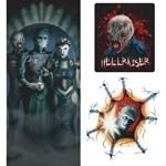 Hellraiser Spooky Scenes (3 count)