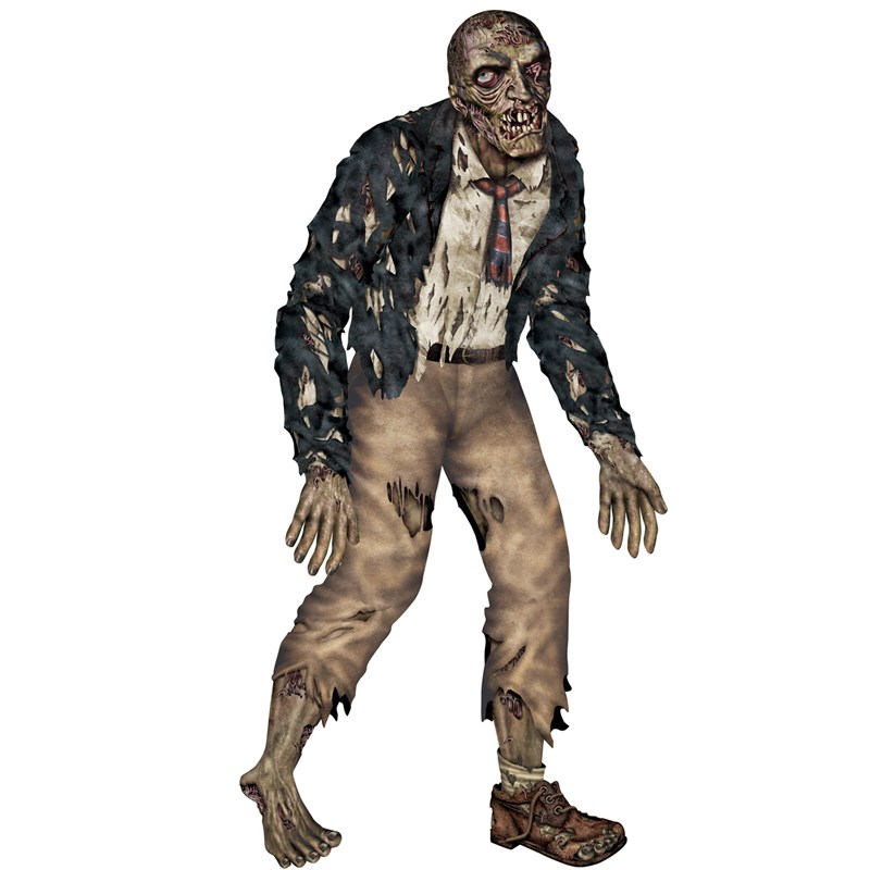 6 Jointed Zombie Cutout for the 2015 Costume season.