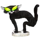 Animated Black Fraidy Cat