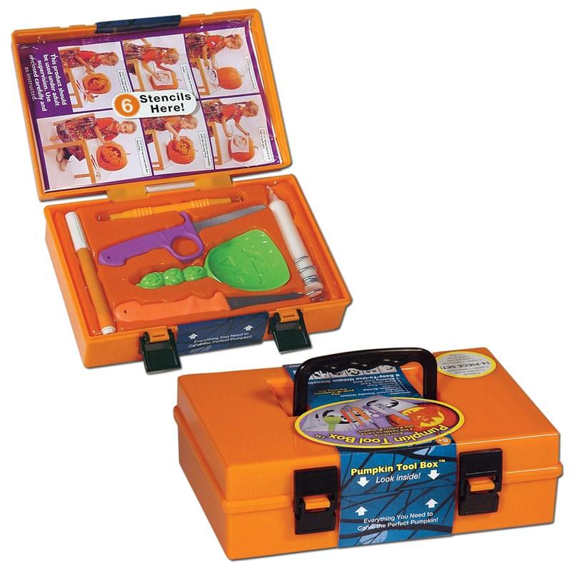 Pumpkin Tool Box Carving Kit for the 2015 Costume season.