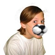 Nose Black Cat With Elastic