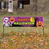 5' Happy Halloween Lawn Banner