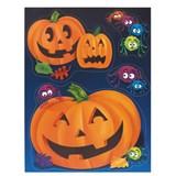 Pumpkin Steps Window Cling