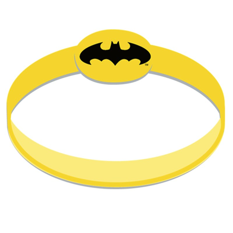 Batman The Dark Knight Wristbands (4 count) for the 2015 Costume season.