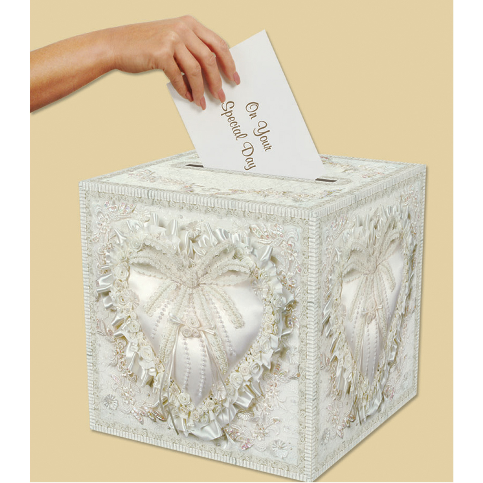 wedding card box includes 1 wedding card box 154712 beistle company