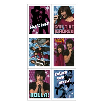 Camp Rock Stickers (4 count)