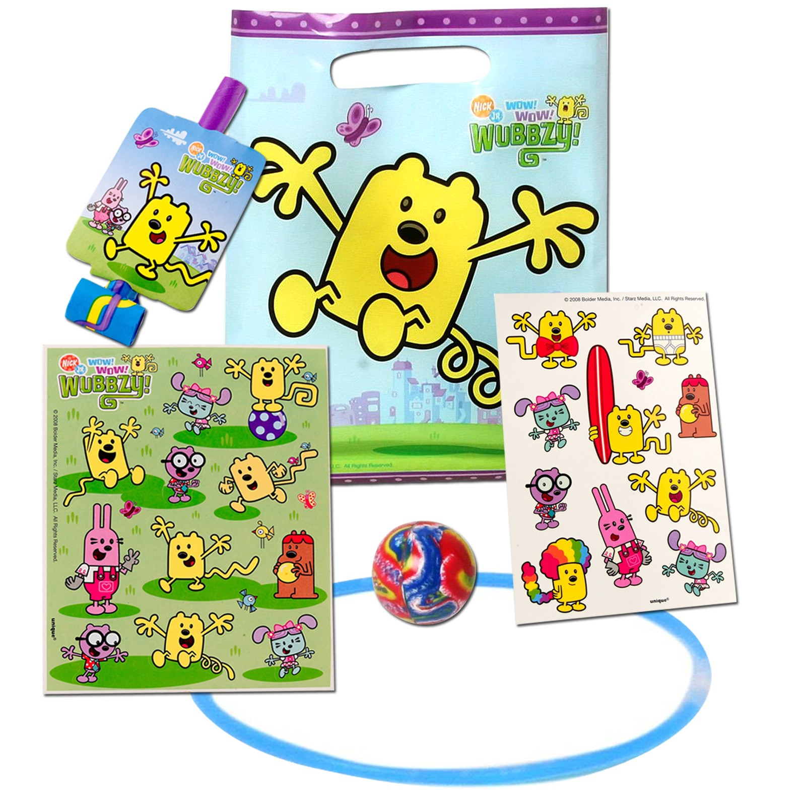 16154 Results In: Halloween Costumes; Wow! Wow! Wubbzy! Party Favor Kit