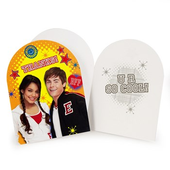High School Musical: Friends 4 Ever Thank You Cards (8 count)