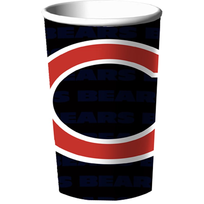Chicago Bears 22 oz. Plastic Cup for the 2015 Costume season.