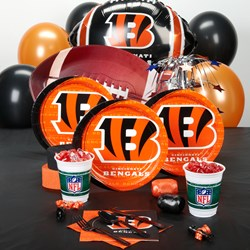 Cincinnati Bengals Deluxe Party Kit