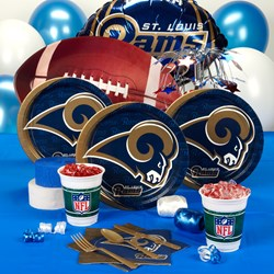 St. Louis Rams Deluxe Party Kit
