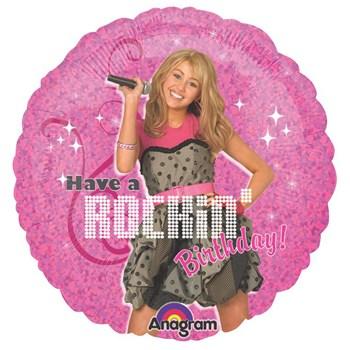 Hannah Montana - Rock the Stage 18 Foil Balloon