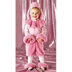 Pink Poodle Toddler Costume