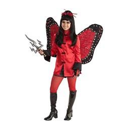 Ninja Butterfly Teen Costume