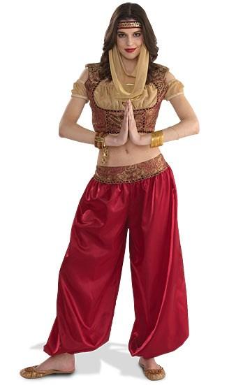 miss dancing genie adult costume