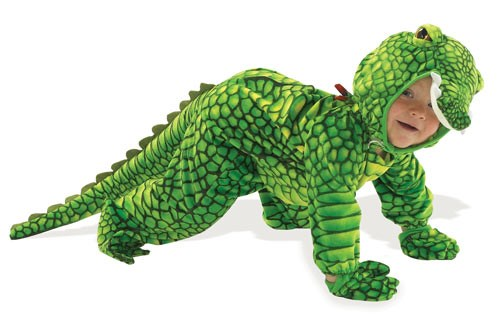 Alligator Infant  and  Toddler Costume for the 2015 Costume season.