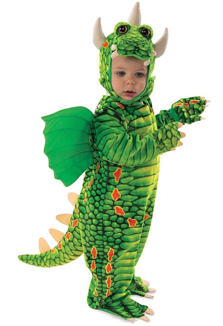Dragon Infant  and  Toddler Costume for the 2015 Costume season.