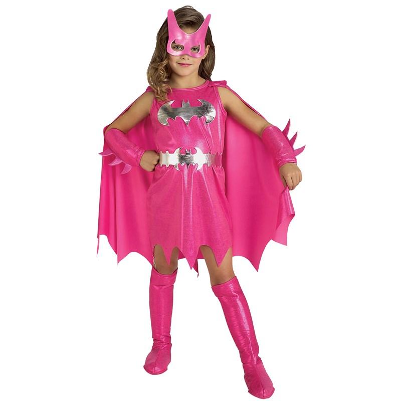 Pink Batgirl Child Costume for the 2015 Costume season.