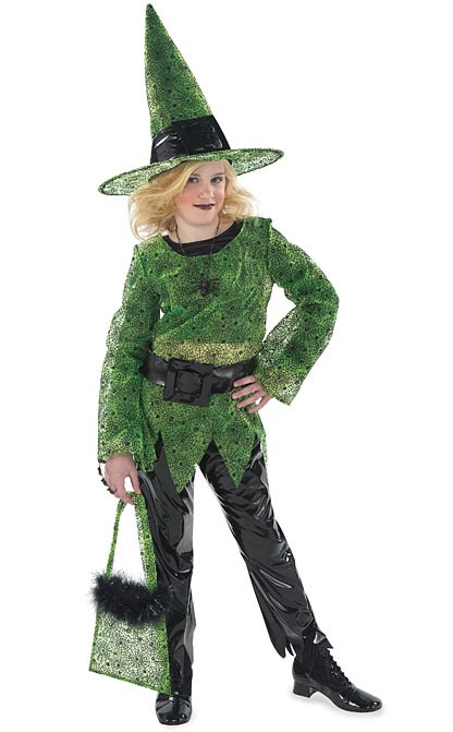 Fashion Witch Child Costume for the 2015 Costume season.