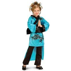 Teal Dragon Child Costume