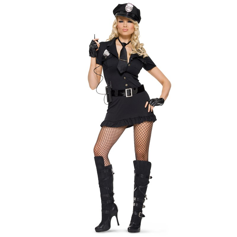 Lady Cop Adult Costume for the 2015 Costume season.