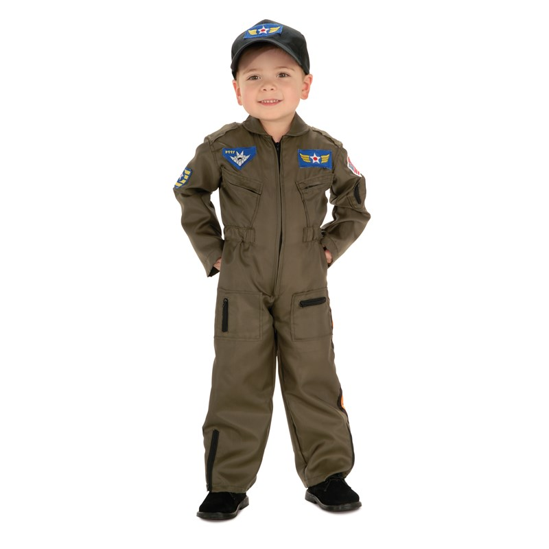 Air Force Pilot Child Costume for the 2015 Costume season.